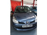 Renault Clio 1.4 MOT 12 July 2018 new shape trade in to clear