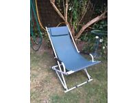 Garden rocking deck chair