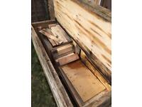 Wood off cuts ply mainly