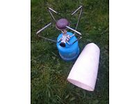 Portable camping gaz stove