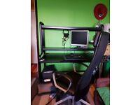 Computer Desk Fredde and Swivel Chair Markus -Ikea-Brand new