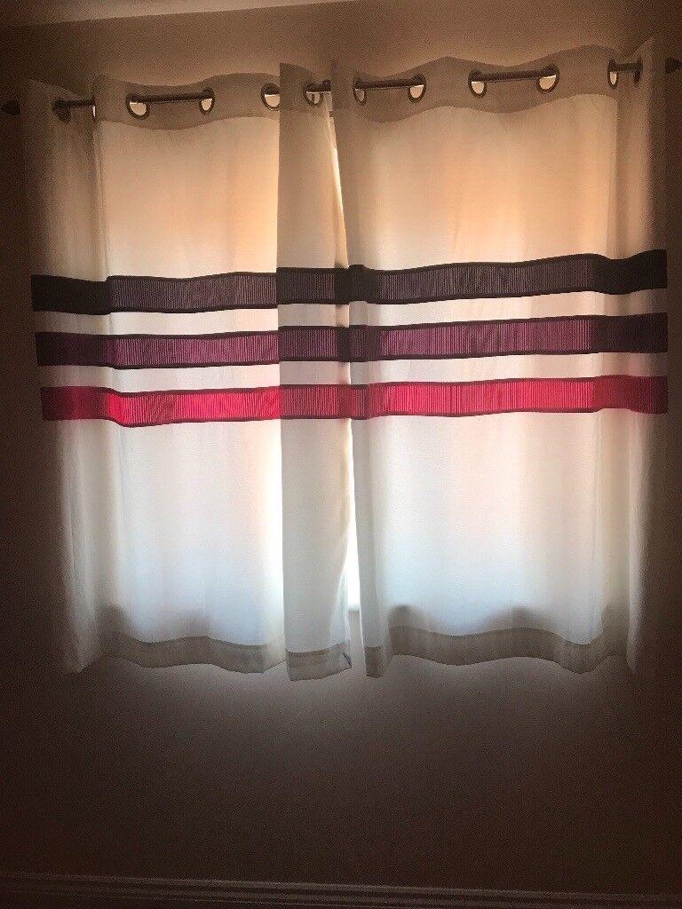 Next eyelet curtains