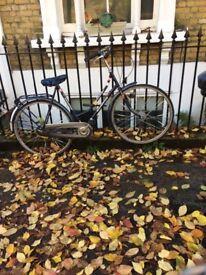 Batavus Duch Bike - Ladies. Needs work, free lock