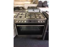 Flavel dual fuel cooker