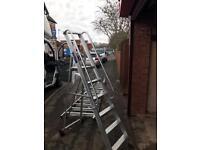 Ramsay Aluminium Mobile Ladder 2 Meters