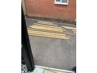 Various deck board lengths