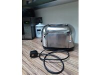 Chrome effect 2 slice Kenwood Toaster