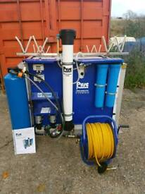Water fed pole reach and wash system - window cleaning system