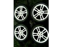 18 inch 5x112 genuine Audi A6 alloys wheels