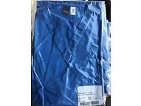 Brand new hospital blue scrub top