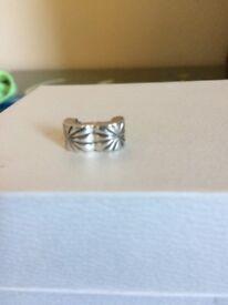 Pandora silver clip charm