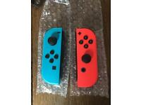Original neon joycon for Nintendo Switch