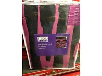 King size pink and black bedding set new