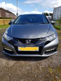 Diesel honda civic s i dtech 1.6. Very nearly immaculate.