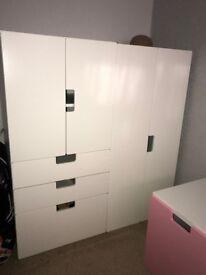 Children Wardrobe/Cupboard/Drawers, Storage/Toy Box & Spare Doors & Drawer front
