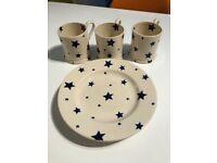 Emma Bridgewater Starry Skies Side Plates