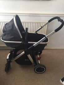 Mothercare journey travel system car seat pram stroller
