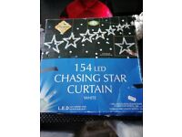 Star chasing Xmas lights indoor/outdoor