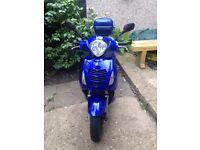 Honda ps 125 year 2007 MLS 22281 blue