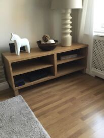 TV unit/entertainment unit. in oak.