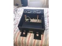 Denon DN-4500 CD DJ Mixer Setup In Flight/Carry Case