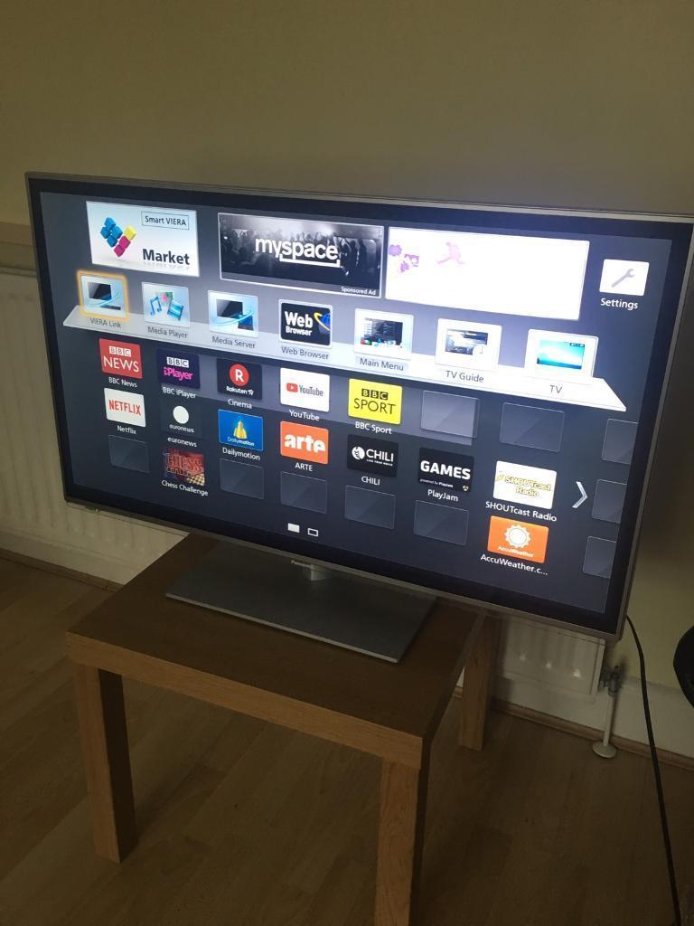 """PANASONIC SMART 42"""" VIERA LED TV TX-L42E6B"""