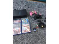 PlayStation 2 with 29 games