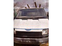 Ford transt crewcab tipper