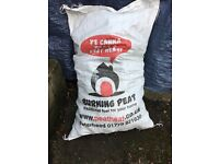 Peat fuel - great for burning