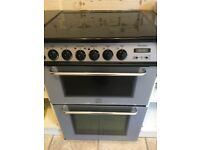 Freestanding gas double oven