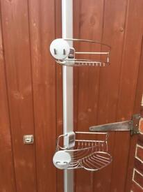 Lakeland simplehuman second hand used shower caddy