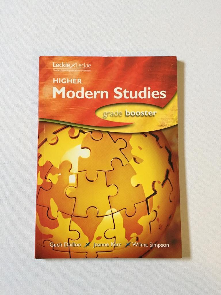 SQA Higher Study Books - Geography, Modern Studies