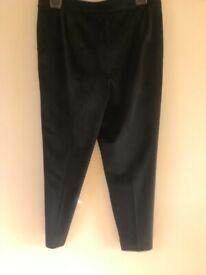 Tu black suit jacket and trousers