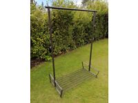 Very sturdy steel clothes rack