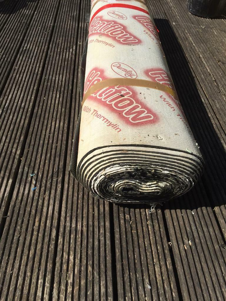 Carpet Underlay Heatflow