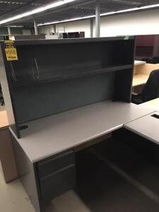 Office Furniture used L-shape desk