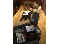 Car boot/Market Stall/EBay Bumper Bundle books, CDs, kindle, DVD recorder, hair straighteners,&more