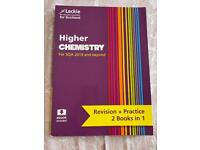 Higher Chemistry Revision Plus Practice Book