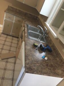 Countertop and Double Sink