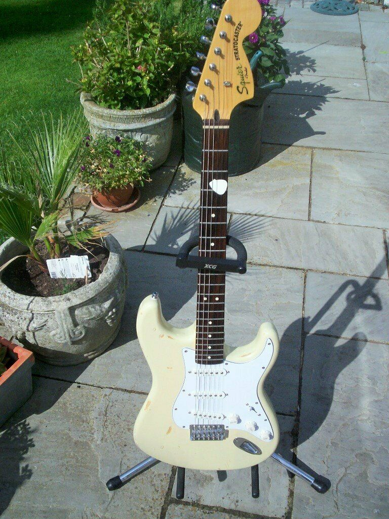 fender squire strat vintage mod 70s relic & hard case | in Leytonstone,  London | Gumtree