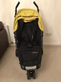 Mothercare Vio Buggy with Seatliner, Footmuff and Parasol