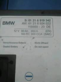 Genuine large bmw battery