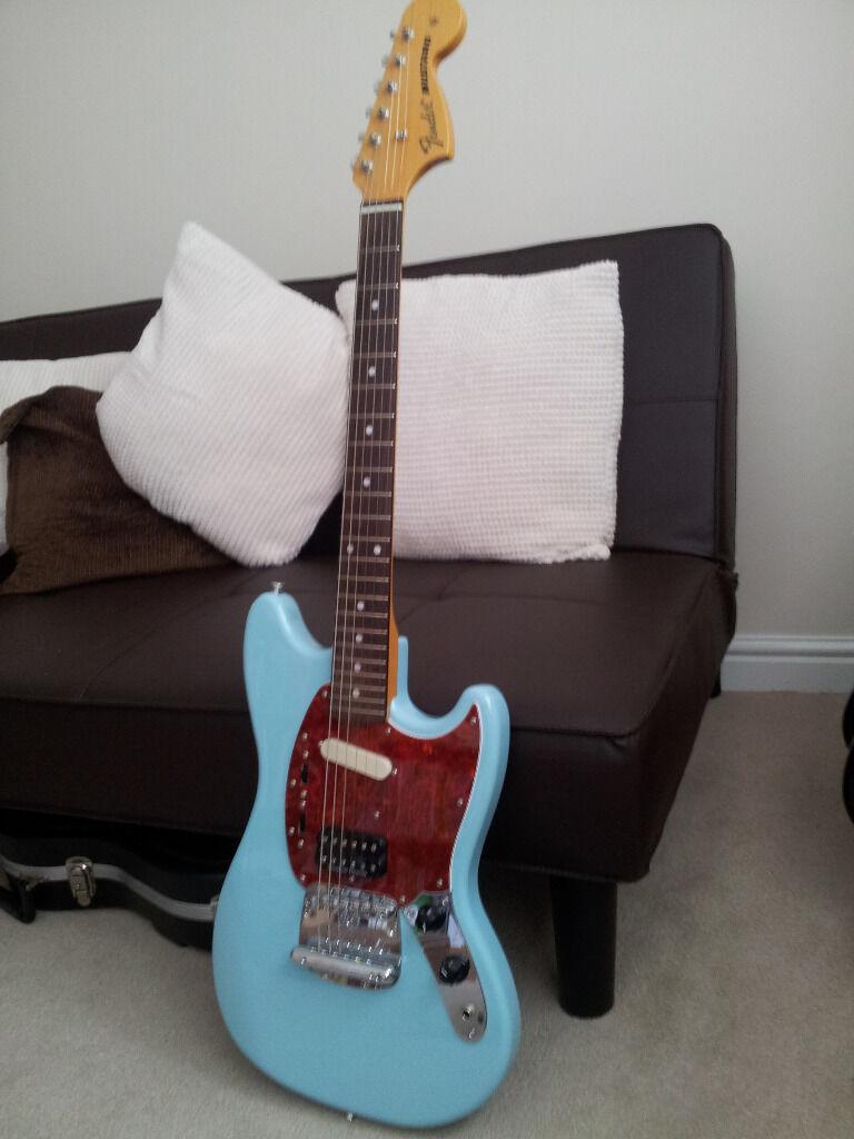 fender japan kurt cobain mustang sonic blue in rochdale manchester gumtree. Black Bedroom Furniture Sets. Home Design Ideas