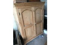 Pine wardrobe - great for children or shirts!