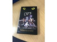 Unused vhs tape of Cats which was given by Sir Andrew Lloyd webber
