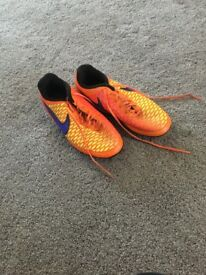 Size 2 football boots good condition. One adidas and one nike! £10 each pair or both pairs for £17