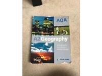 AQA A2 Geography Textbook