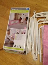 Lindam pink bedrail