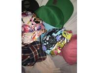 Lot of snapback hats