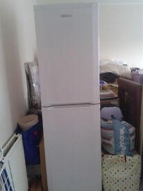 BEKO Fridge Freezer, frost-free, white, height 6ft.